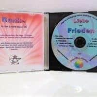 Musik-CD Liebe und Frieden Innenseite aufgeklappt