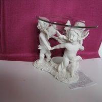 Engelfiguren Hände haltend als Teelichtduftschale