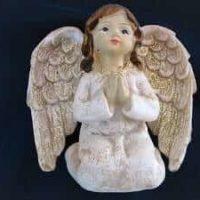 Gilde-Engel betet kniend, Original