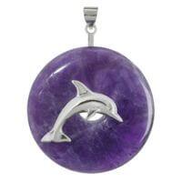 Sonutanhänger Delfin, 925 Silber für 30 mm und 40 mm Donuts