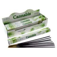 Duft von Cannabis Räucherstäbchen 20 Stck. pro Packung