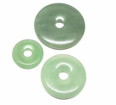 Donut Aventurin 50 mm Heilstein, Anhänger, Mineral-Edelstein, Engelshop