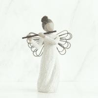 Willow Tree Engel der Harmonie mit Flöte