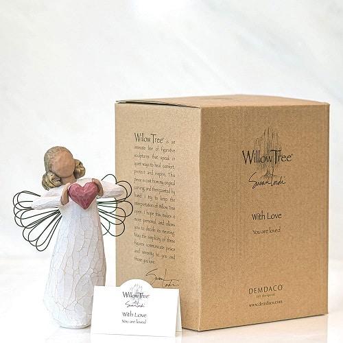 Willow Tree Engelfigur der Liebe with love mit Box und Kärtchen