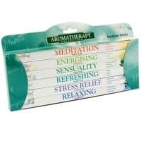 6er Pack Stamford Räucherstäbchen Geschenkpackung zur Meditation, Stressmindernd, Relaxen und Erfrischen
