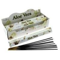 6x Aloe Vera Stamford Räucherstäbchen a 20 Stck pro Packung
