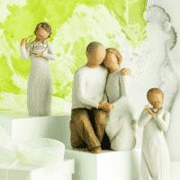 Willow Tree Familie Figuren