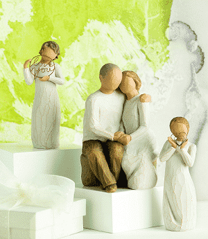 Willow Tree Figuren Familie und Engel von Susan Lordi
