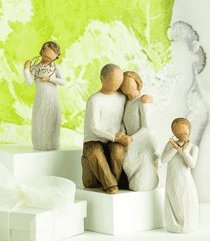 Willow Tree Figuren Familie und Engel von Susan Lordi