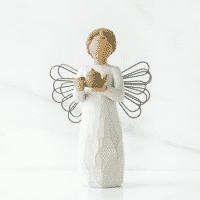 Willow Tree Engel der Küche von Susan Lordi angel of kitchen, 14 cm in Geschenkbox mit Kärtchen uns Spruch