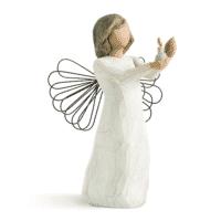 Willow Tree Engel der Hoffnung von Susan Lordi angel of hope, 13 x 9 x 8 cm, in Box und mit Kärtchen