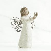 Willow Tree Engel der Hoffnung von Susan Lordi angel of hope, 13 x 9 x 8 cm in Box mit Kärtchen