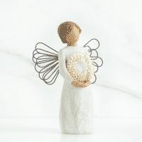 Willow Tree Engel des liebelichen Herzens von Susan Lordi angel of sweetheart 14 cm in Geschenkbox mit Kärtchen und Spruch