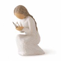 Willow Tree Stilles Wunder von Susan Lordi quiet wonder 9,3 cm in Geschenkebox mit Kärtchen und Spruch