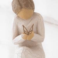 Willow Tree Figur Stille Wunder von Susan Lordi quiet Wonder 9,3 cm in Geschenkbox mit Kärtchen und Spruch
