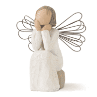 Willow Tree Engel of Caring offenes Ohr Immer für dich da 10,8 cm