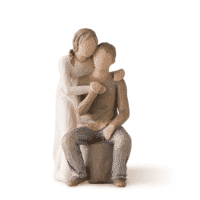 Willow Tree Figur you and me Du und ich ein Paar, 17,0 cm, Valentinstag