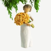 Willow Tree Ornament zum Aufhängen good cheer (Glückwünsche)
