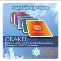 Engelalm Orakelkarten 33 Themenkarten, 8 Erzengelkarten und 7 Chakrenkarten, 1 Joker