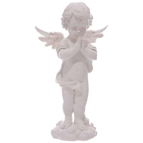 Großer Engel betend 360mm aus Polyresin, Grabengel
